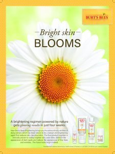 NZ BB Brightening range with daisy ad 2016